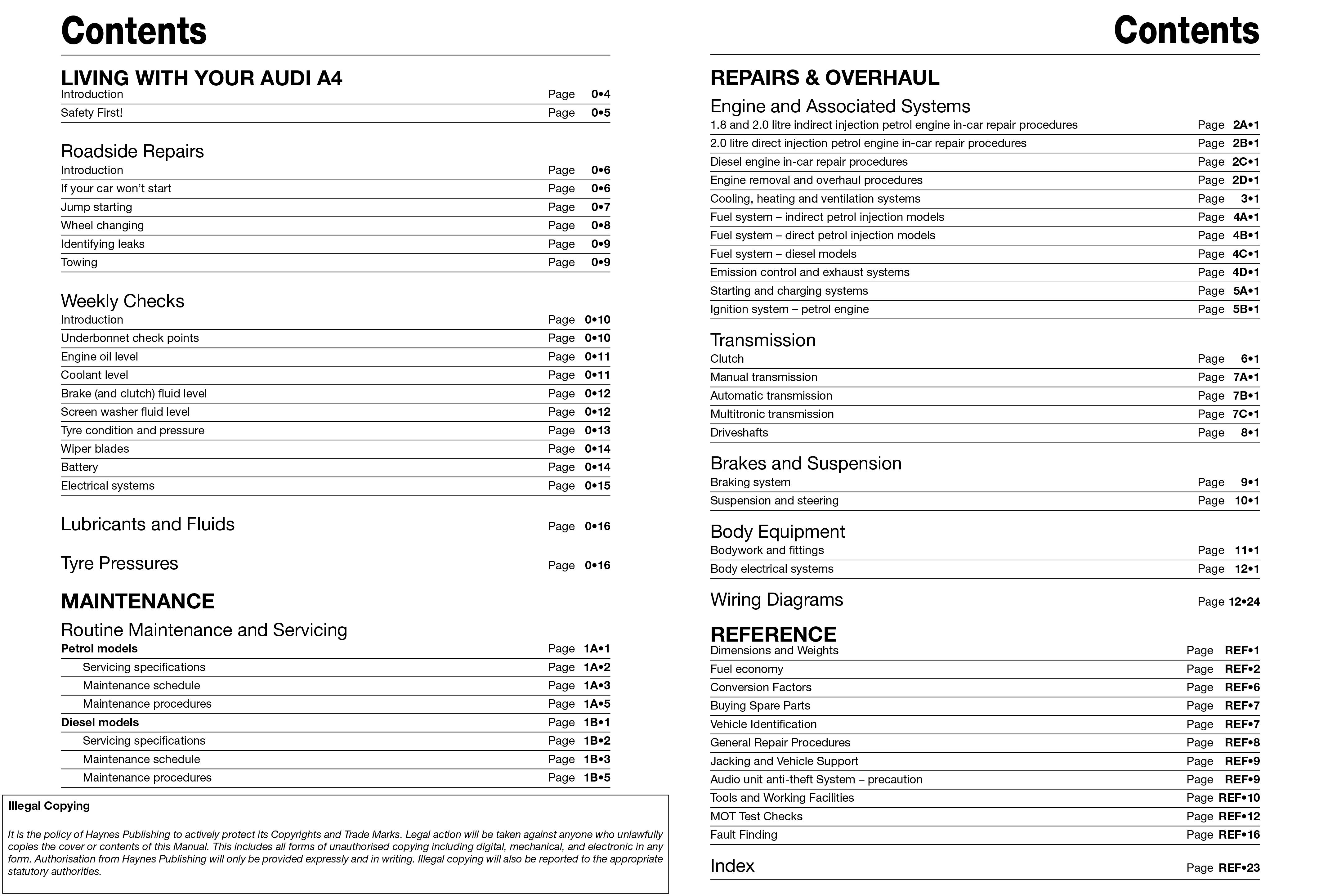 Audi A4 B7 Wiring Diagram