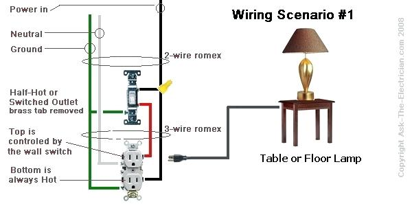 Tz 3101 Wiring A Wall Switch To An Outlet Free Diagram