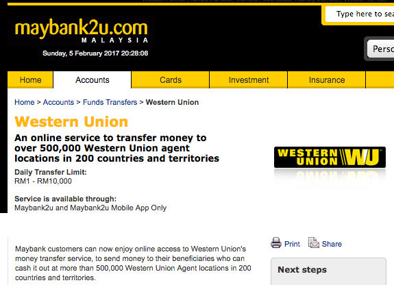 Wiring Money From Western Union Free