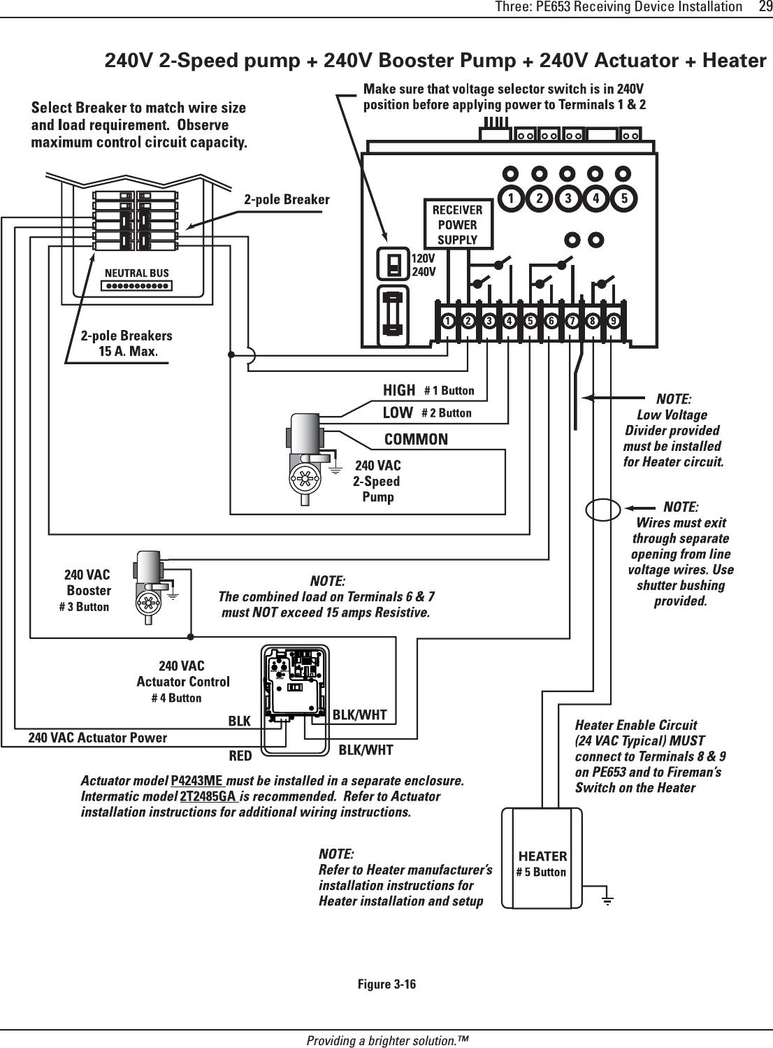 Stupendous Pe000653 5 Circuit Digital Control User Manual Exhibit D Users Wiring Cloud Ostrrenstrafr09Org