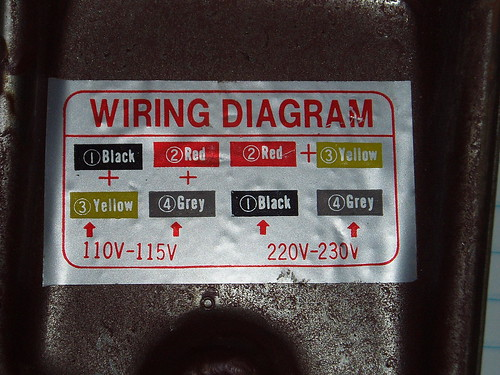 Vv 2604 How To Wire An Electric Motor To Run On Both 110 And 220 Volts Wiring Diagram