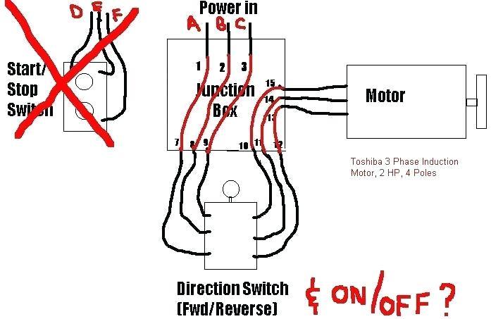 Electric Motor Wiring Diagram 220