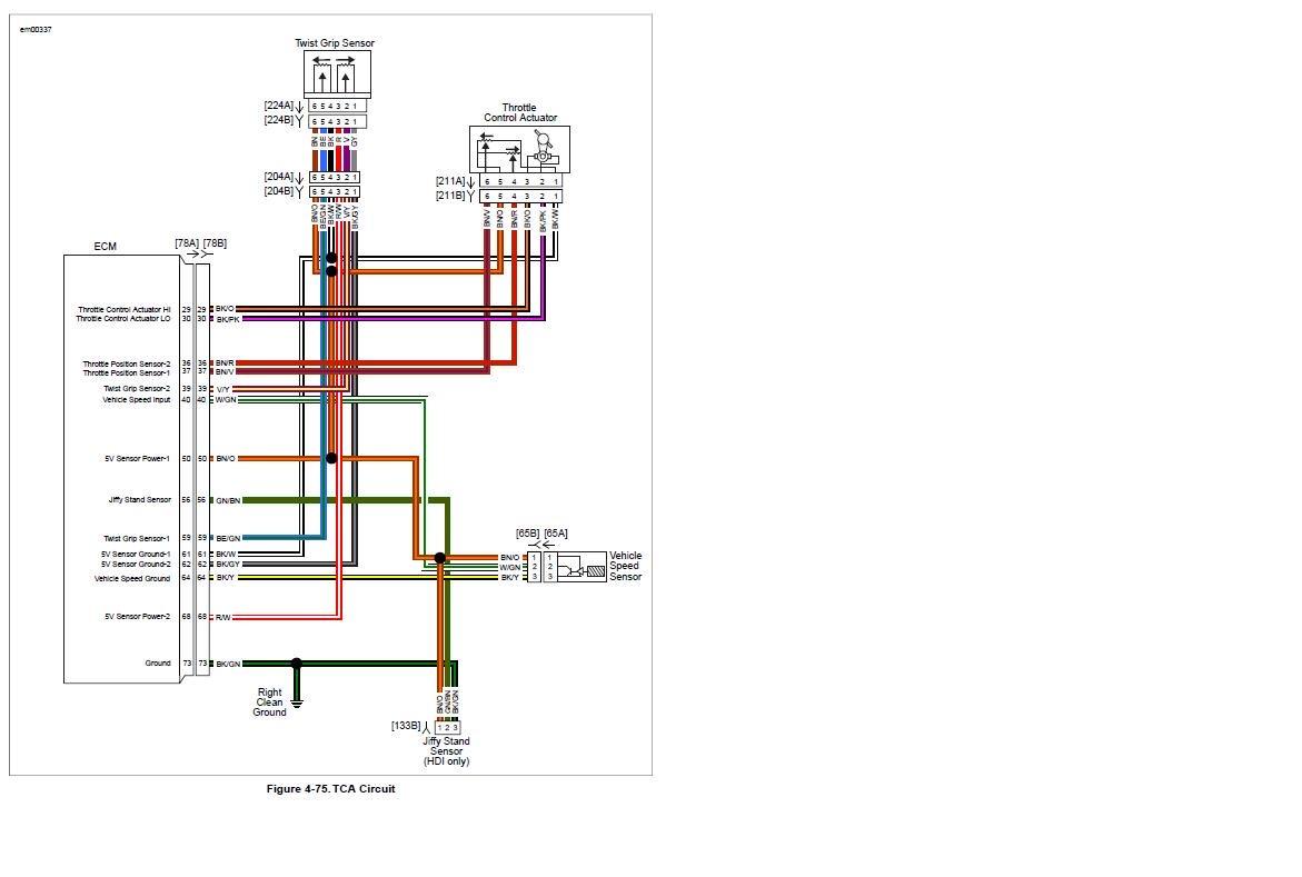 2009 Harley Davidson Street Glide Wiring Diagram