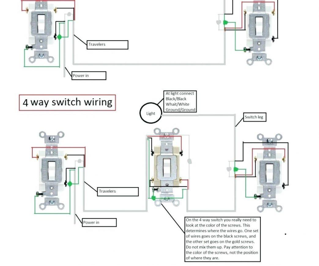 4-way Switch Wiring Diagram Pdf