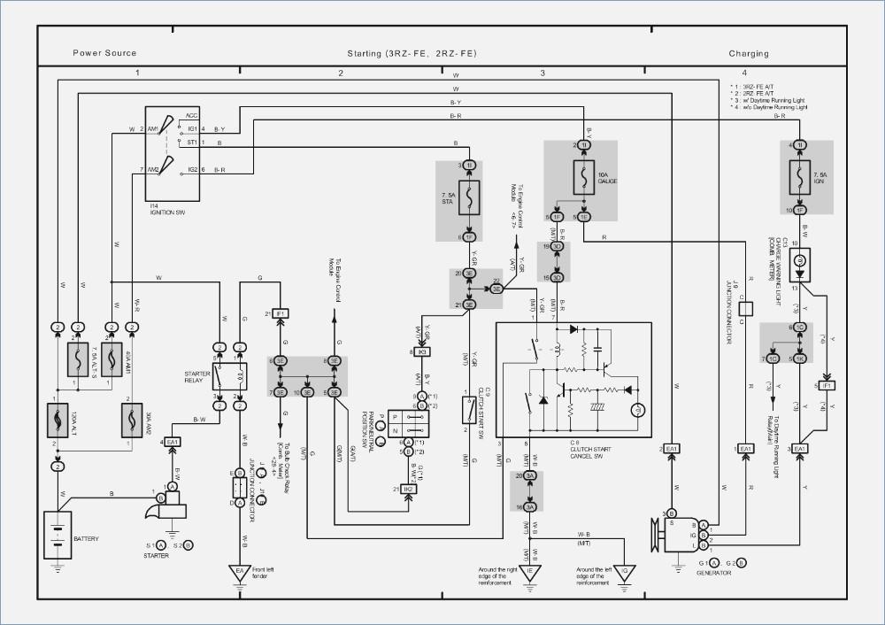 bg9651 wiring diagram for 1999 toyota tacoma download diagram