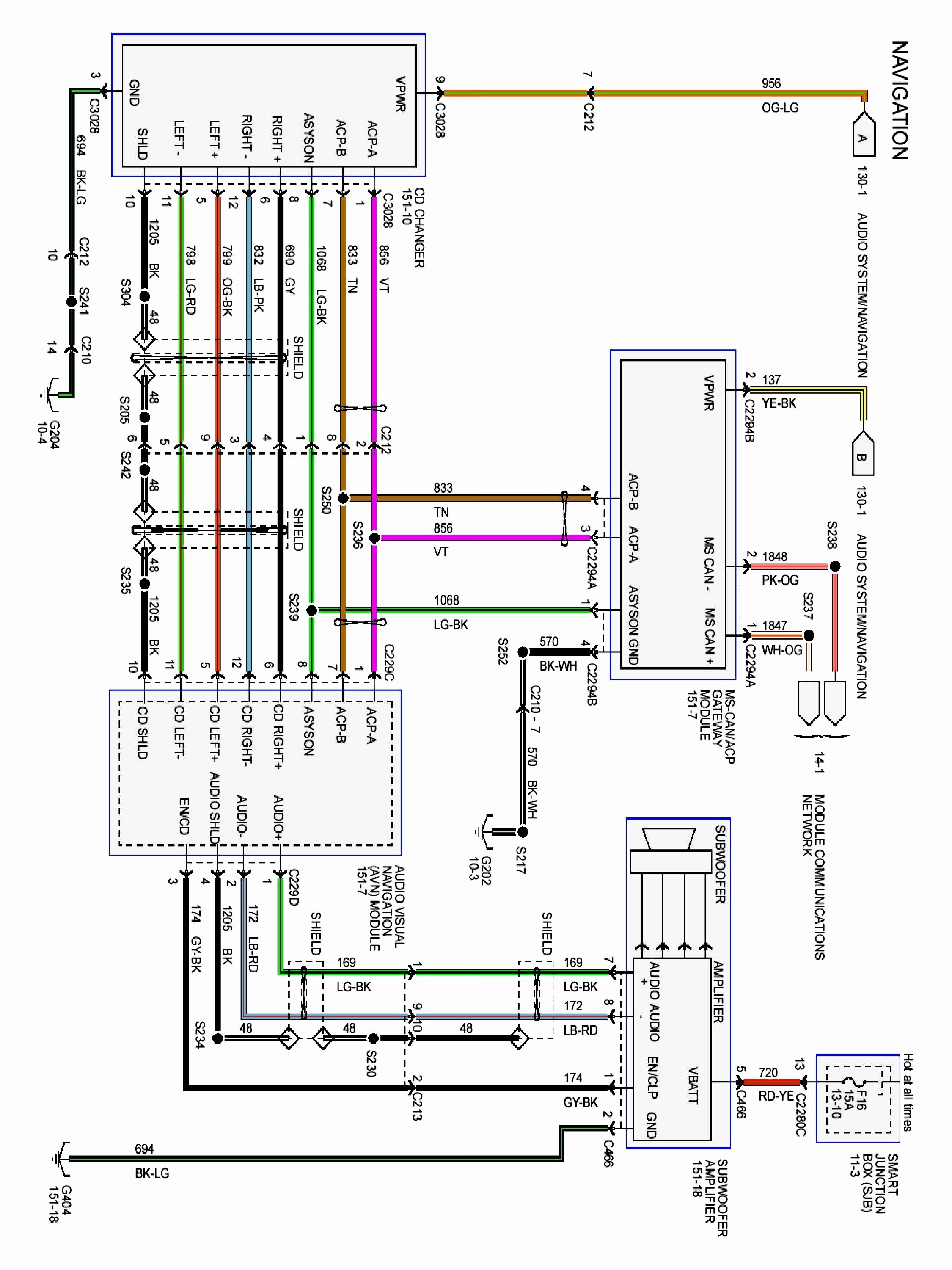 2004 Mustang Radio Wiring Diagram