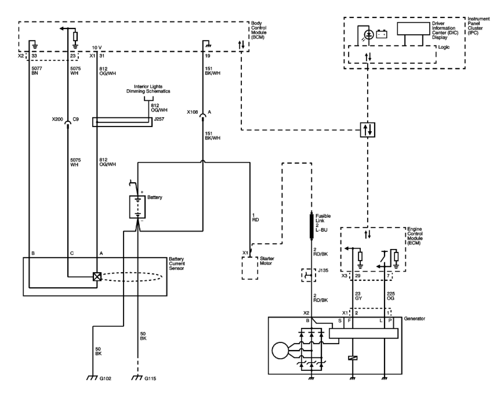 Wiring Diagram Chevrolet Uplander 2007