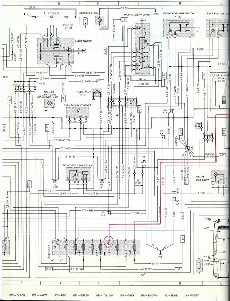 Porsche 996 Wiring Diagram 2001 Wiring Diagrams Electrical Electrical Adriengirod Fr