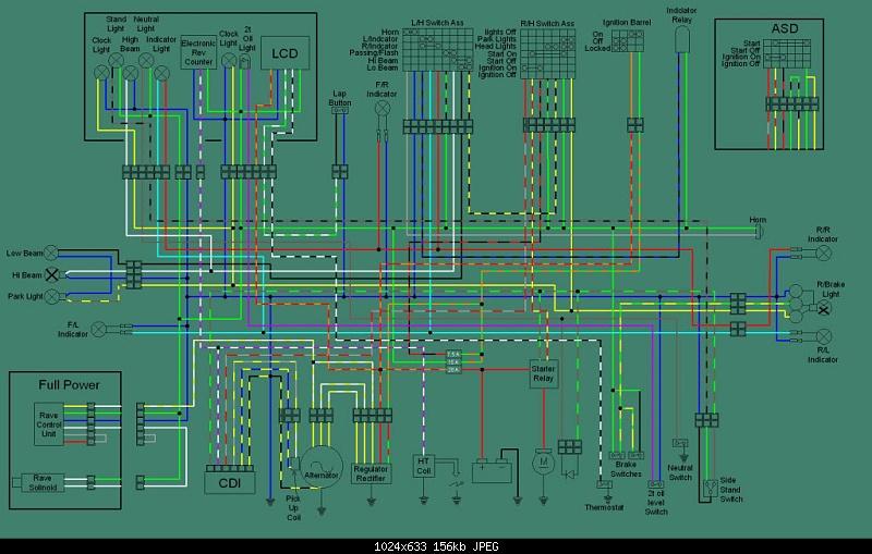 Rs 125 Wiring Diagram