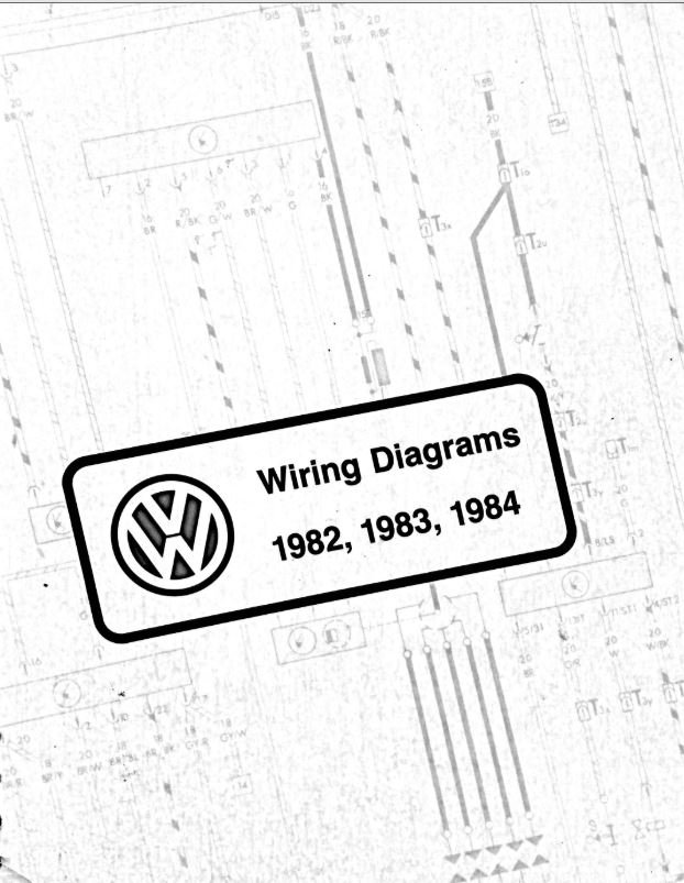 Astonishing Vw Wiring Diagram Pdfs 1982 1983 1984 Chris Chemidl In Wiring Cloud Vieworaidewilluminateatxorg