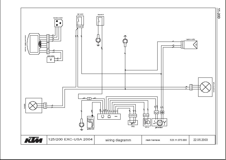 2001 Ktm 300 Exc Wiring Diagram