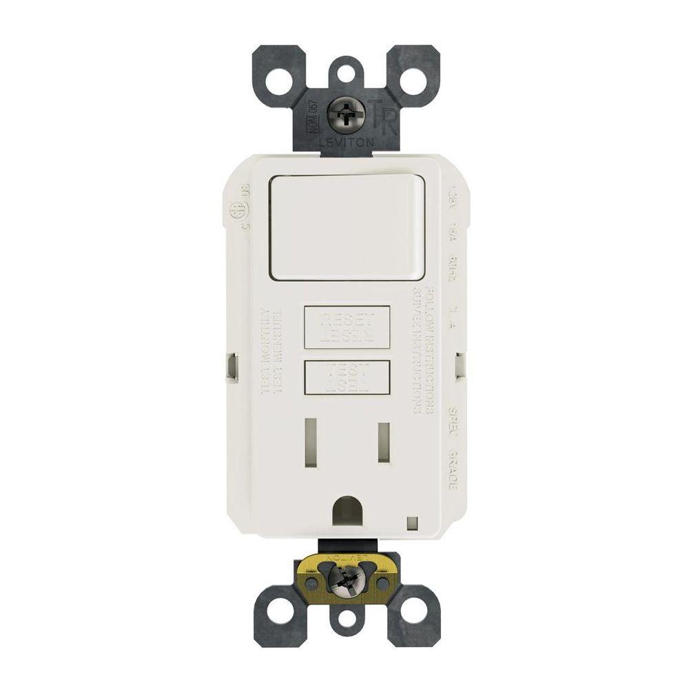 Surprising Leviton 15 Amp 125 Volt Combo Self Test Tamper Resistant Gfci Outlet Wiring Cloud Onicaalyptbenolwigegmohammedshrineorg