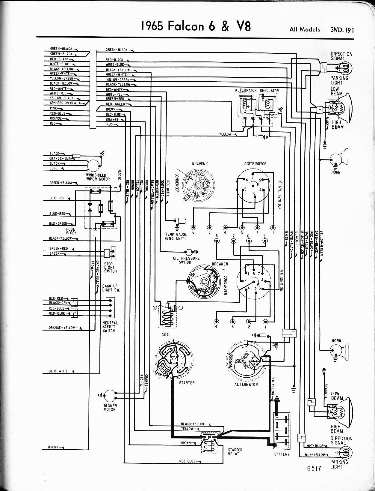 SA_9307] 1965 Ford 6 And V8 Galaxie Part 1 Wiring Diagram Automotive Wiring  Download DiagramDome Carn Vira Mohammedshrine Librar Wiring 101