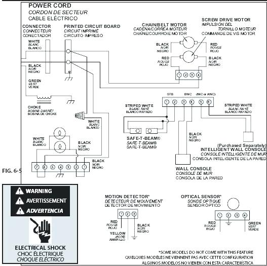 al6920 installation diagram on craftsman garage door