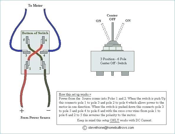 6 Pin Rocker Switch Wiring Diagram
