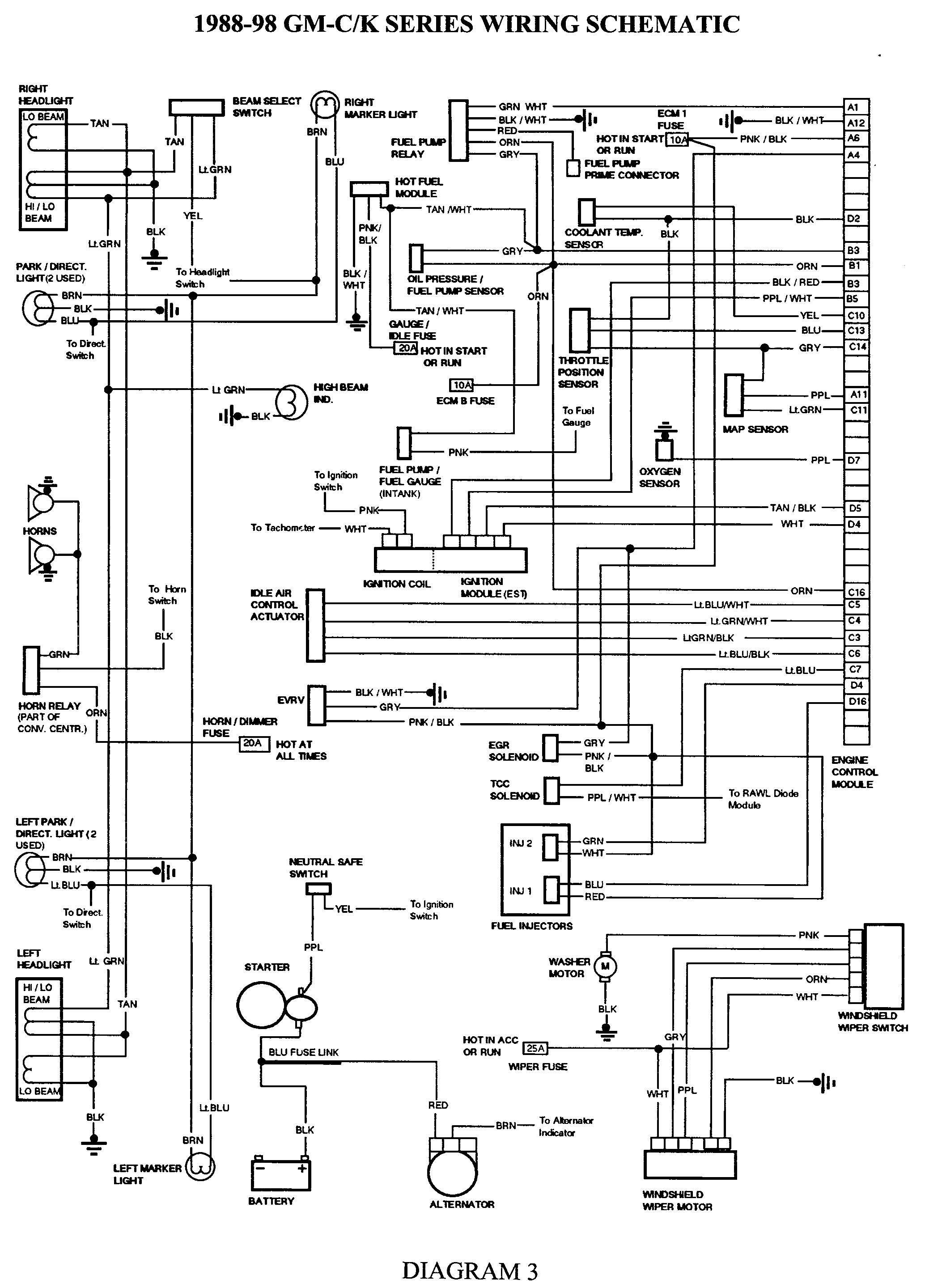 Wiring Diagram For 1996 Chevy S10