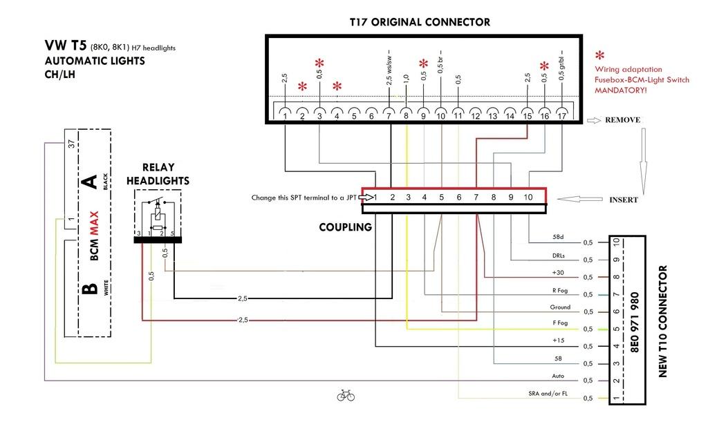 Volkswagen T5 Wiring Diagram Obd2