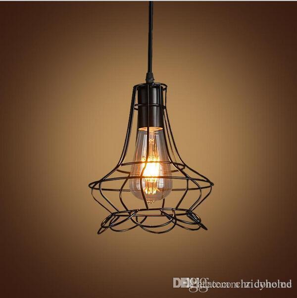 Fine Retro Iron Pendant Light Loft Industrial Lighting Vintage Hanging Wiring Cloud Loplapiotaidewilluminateatxorg