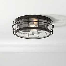 Fabulous Flush Mount Ceiling Lights Lamps Plus Wiring Cloud Loplapiotaidewilluminateatxorg