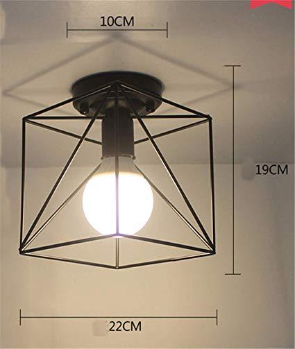 Excellent Amazon Com Vintage Ceiling Lights Lustre Led Ceiling Lamp Loft Iron Wiring Cloud Loplapiotaidewilluminateatxorg