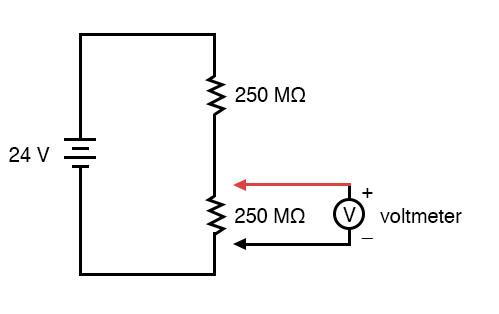 Remarkable Voltmeter Impact On Measured Circuit Dc Metering Circuits Wiring Cloud Monangrecoveryedborg