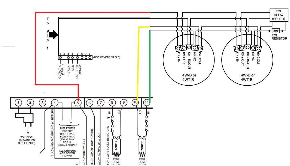 hardwired smoke detector schematic  wiring diagram 1968