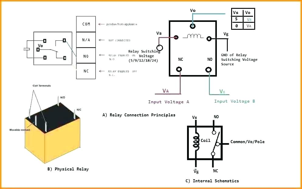 4 pole relay wiring diagram gm 2405  12 volt relay wiring diagrams on 4 pin spst relay wiring  12 volt relay wiring diagrams on 4 pin