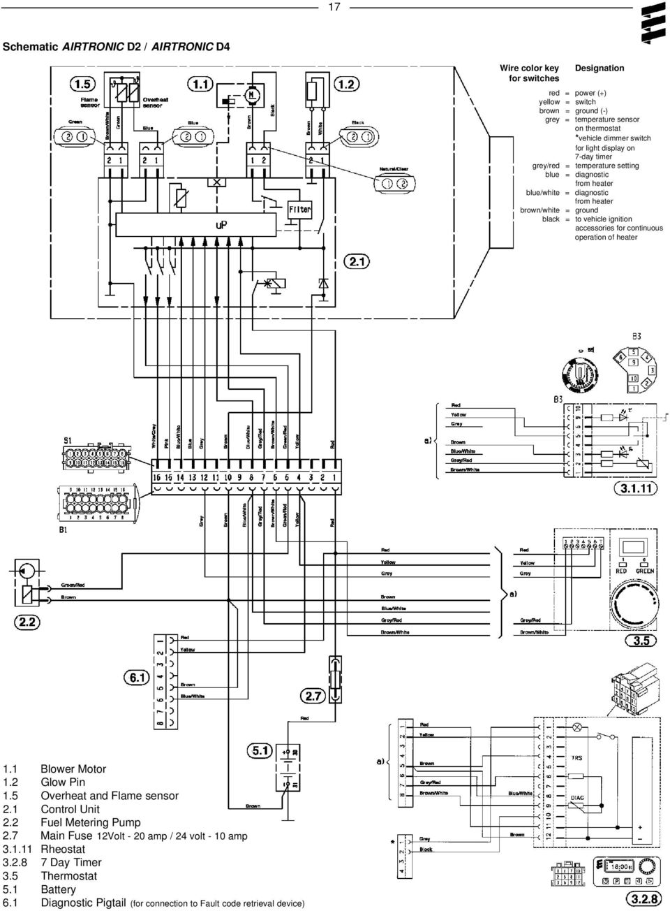 ND_9626] Airtronic D2 Wiring Diagram Schematic Wiring