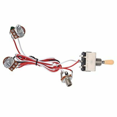 Groovy Guitar Wiring Harness 3Way Toggle Switch 1V1T 500K Electric Guitar 2 Wiring Cloud Itislusmarecoveryedborg