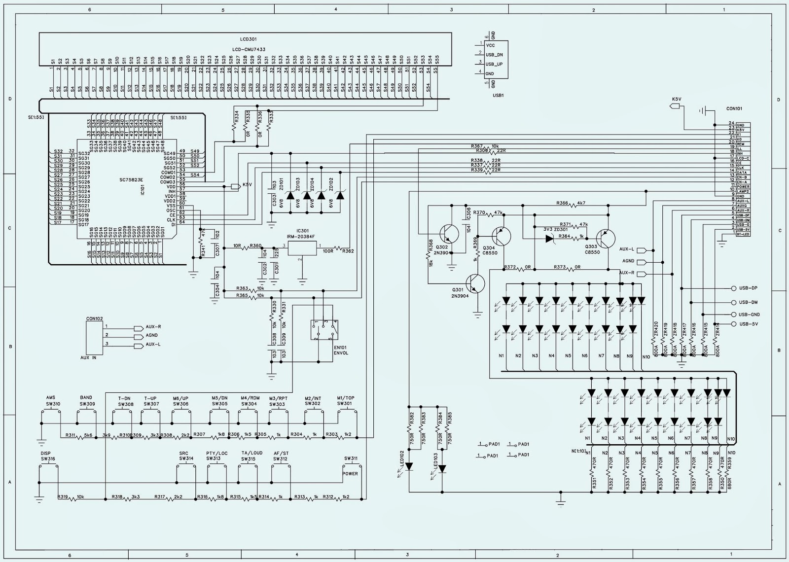 Excellent Hbd7310 Car Stereo Schematic Circuit Diagram Electro Help Wiring Wiring Cloud Hemtegremohammedshrineorg