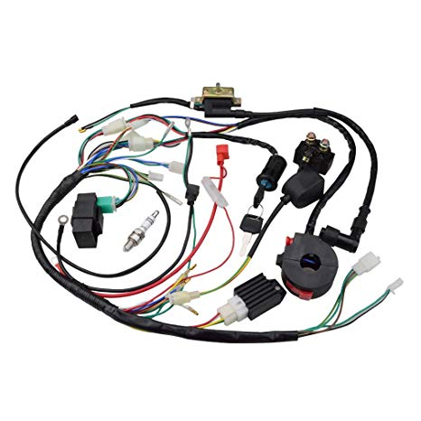Outstanding Amazon Com Goofit Ignition Rebuild Kit Wiring Harness For 50Cc 90Cc Wiring Cloud Picalendutblikvittorg