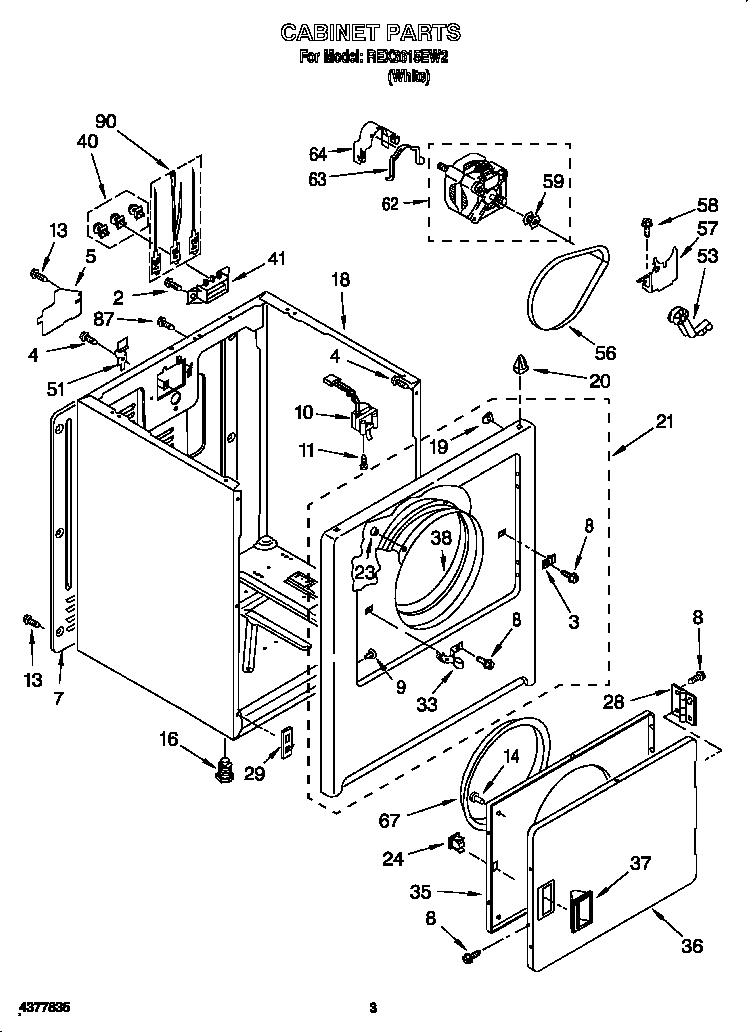 Wiring Diagram For Roper Dryer
