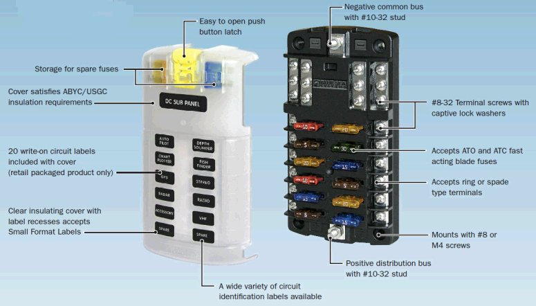 vo9284 blue sea fuse block wiring diagram download diagram
