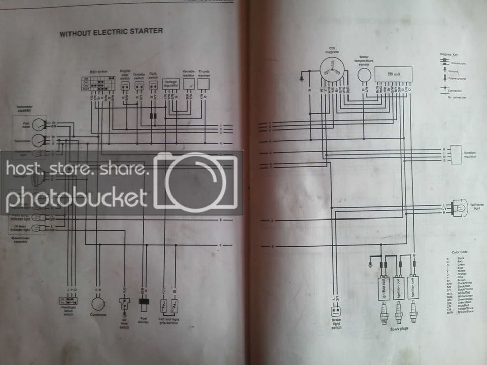 Gt 5810 1998 Yamaha Grizzly 600 Wiring Diagram Free Diagram