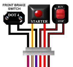 Oo 5168 1991 1994 Honda Cbr600 Fuse Box Diagram Schematic Wiring
