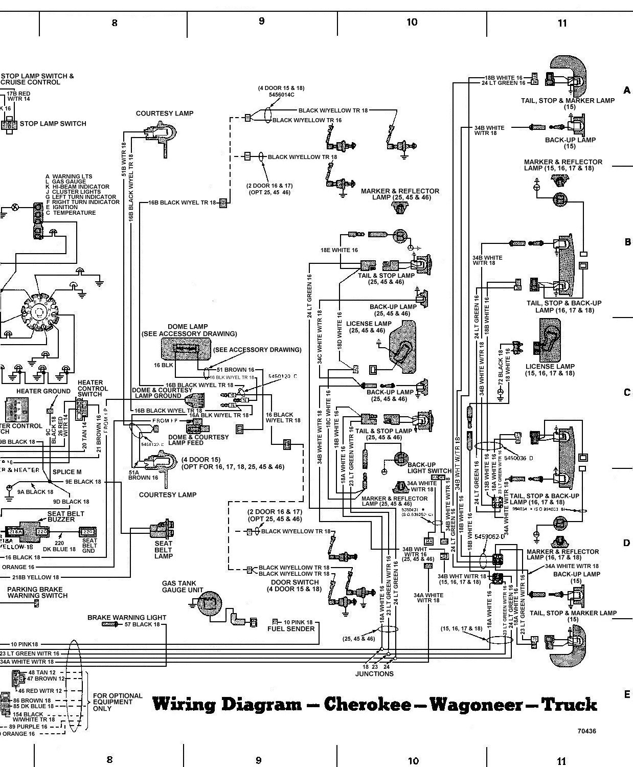 1990 Jeep Cherokee Horn Wiring Diagram
