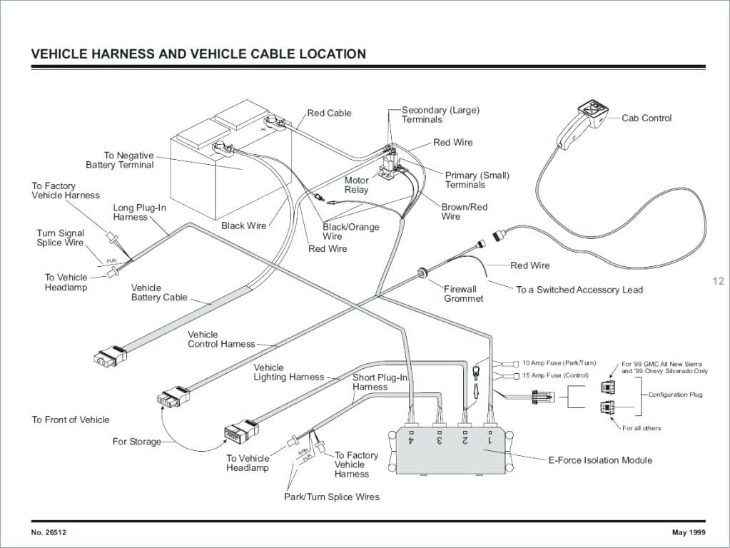 Fisher Plow Wiring Diagram Database