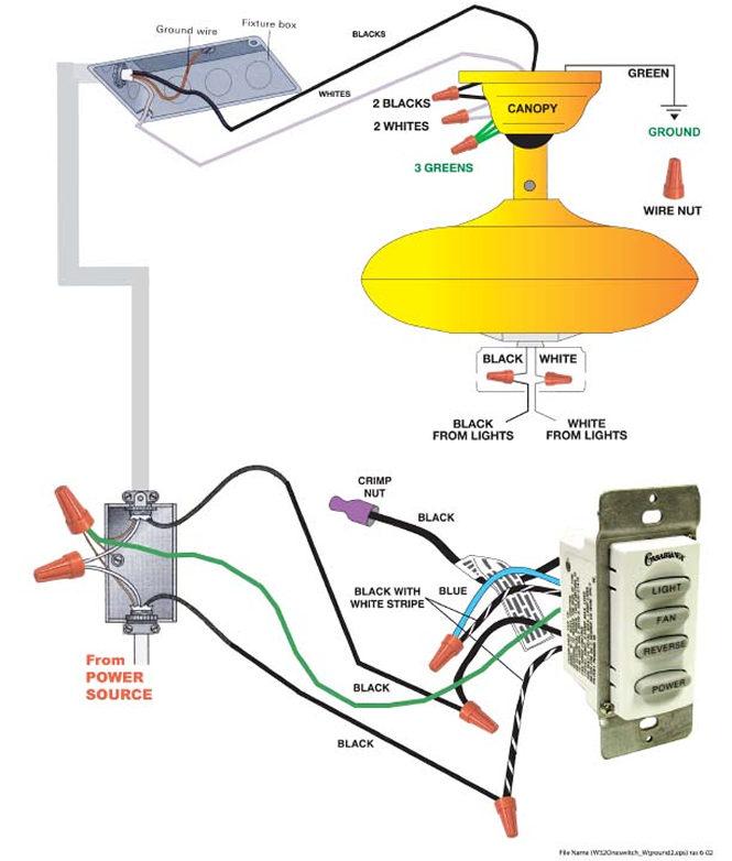 Xx 9535 55017 Hunter Fan Wiring Diagram