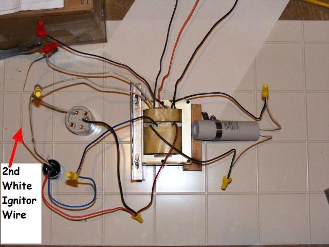 sx0376 150w hps ballast wiring diagram schematic wiring