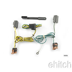 Fabulous Curt Trailer Hitch Custom Wiring Harness Connector 56056 For Gmc Wiring Cloud Faunaidewilluminateatxorg