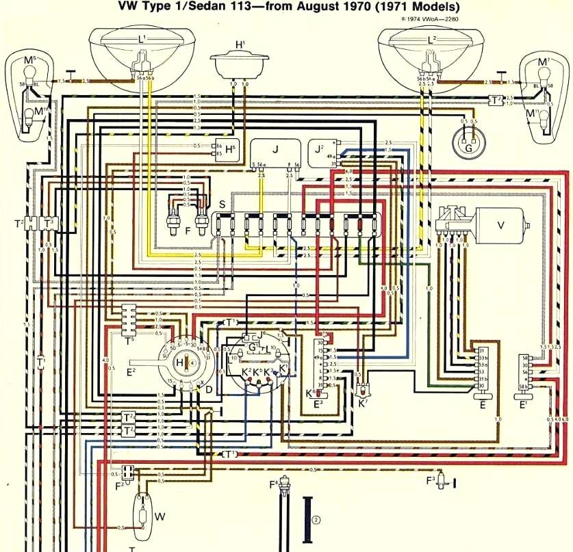 1975 vw beetle wiring diagram  center wiring diagram give
