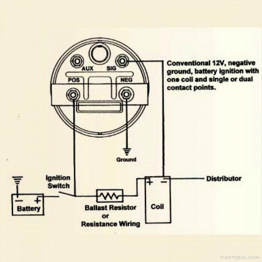 Ky 4990 Stewart Warner Tachometer Wiring Diagram As Well Sun Super Tach Wiring Schematic Wiring