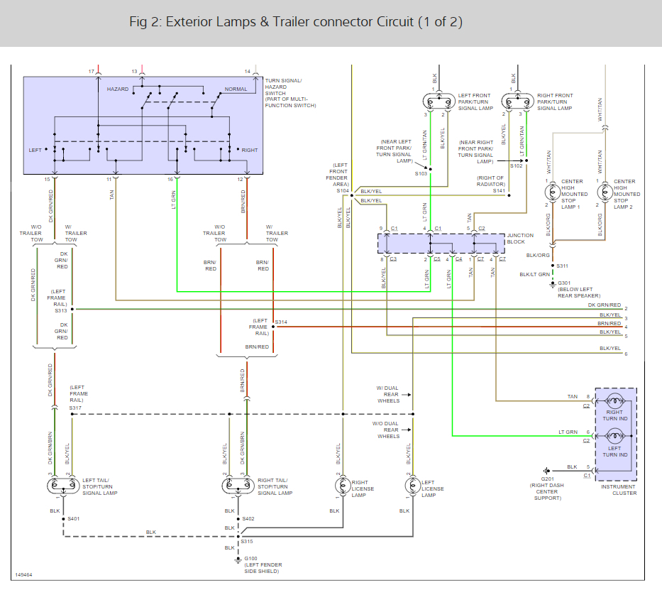 Superb Wiring Diagram Do You Have The Tail Light Wiring Diagram For A Wiring Cloud Cranvenetmohammedshrineorg