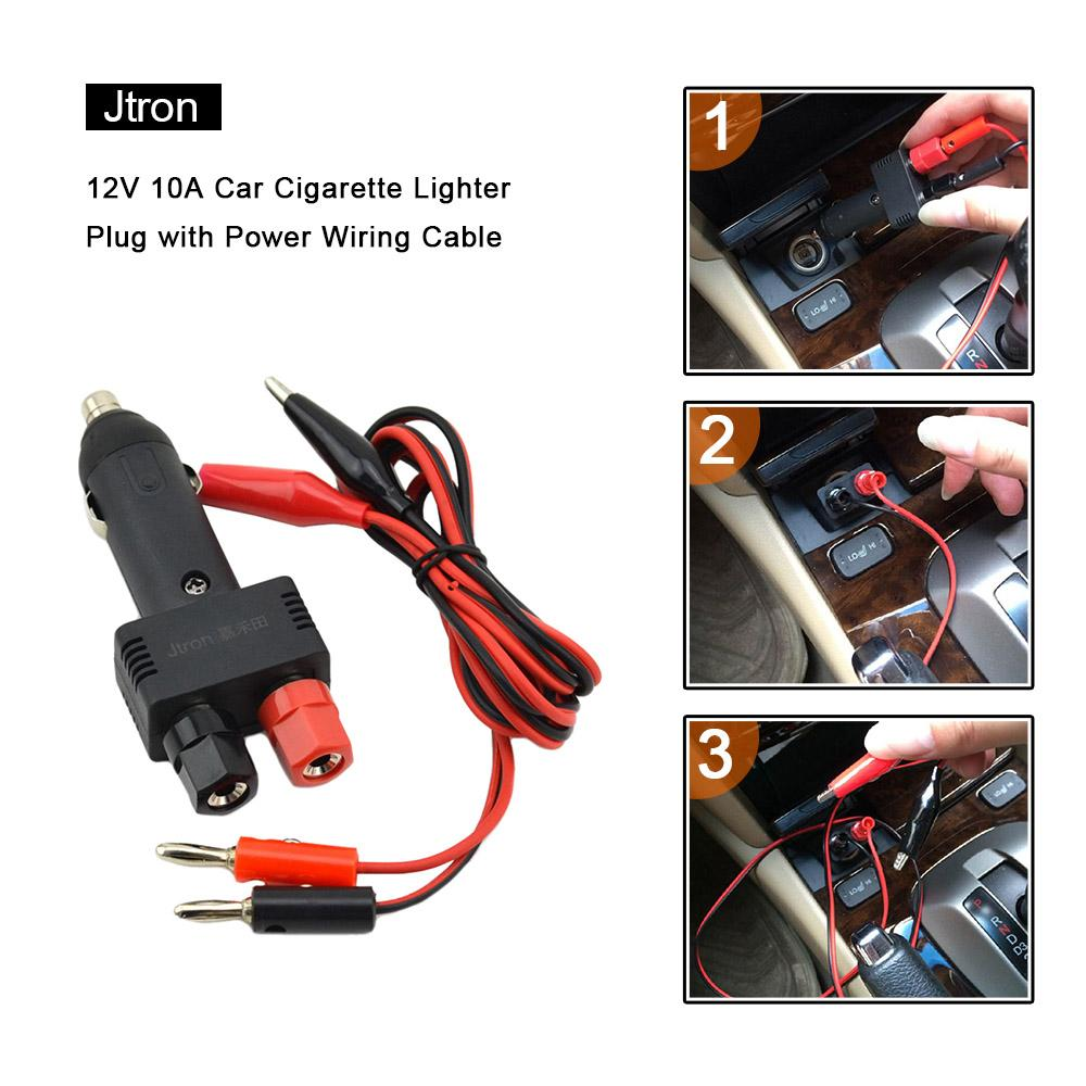 Remarkable 2019 12V 10A Car Cigarette Lighter Plug With Power Wiring Cable Wiring Cloud Ymoonsalvmohammedshrineorg