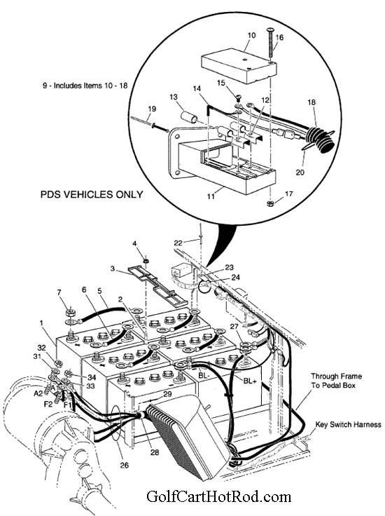 ne9214 ez go workhorse 1200 wiring diagram wiring diagrams