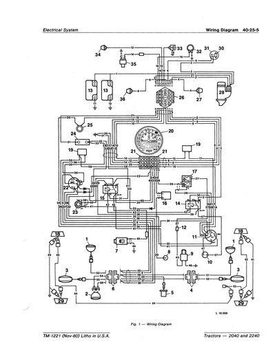 wz9015 john deere 4100 electrical diagram free diagram