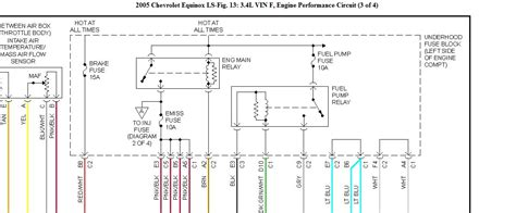 2005 chevrolet equinox wiring diagram bx 6033  2005 equinox wiring diagrams automotive  2005 equinox wiring diagrams automotive