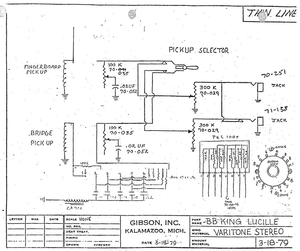We 6401 Wiring Diagram For Gibson Lucille Schematic Wiring