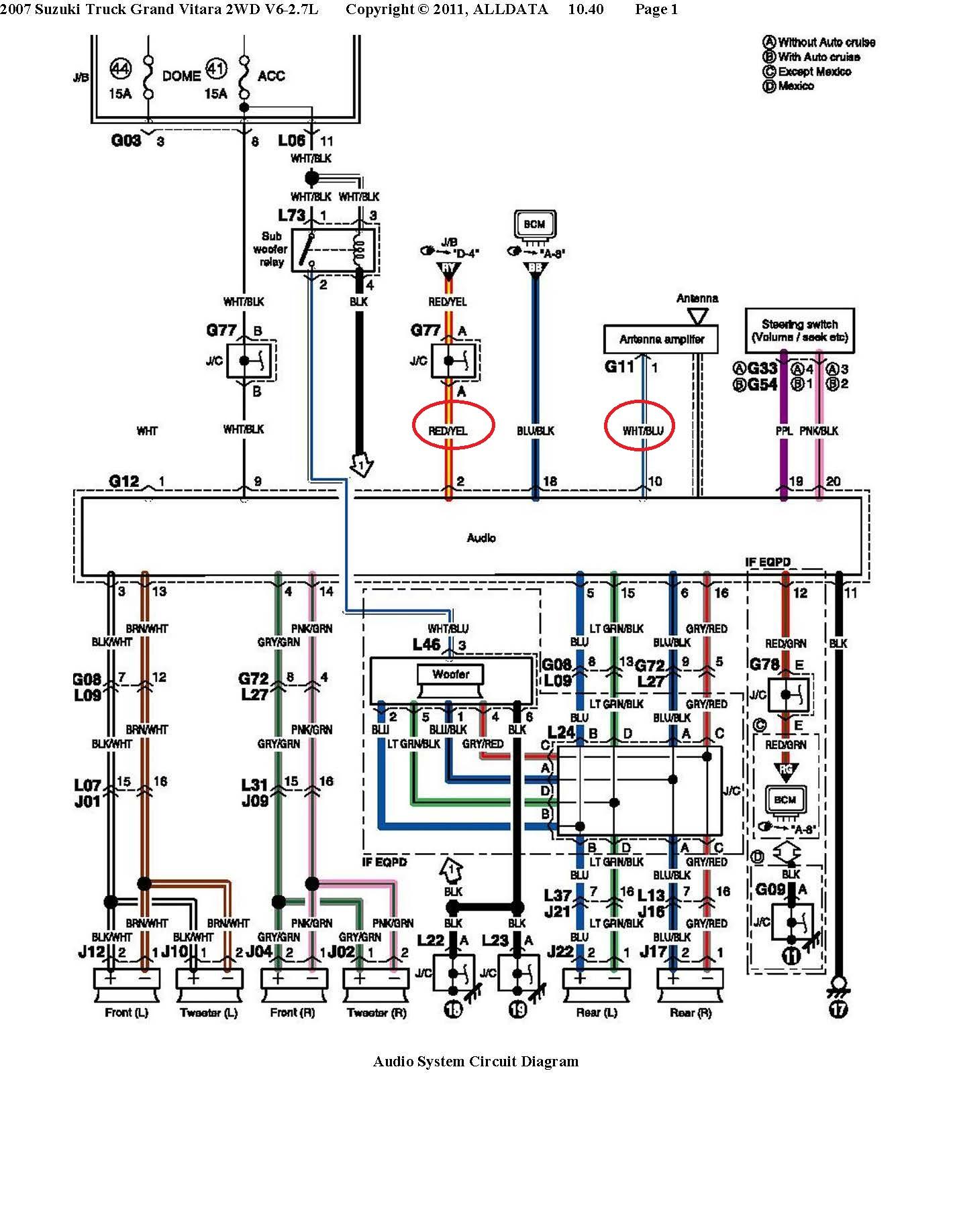 ZO_0857] 2000 Suzuki Vitara Wiring Diagram Schematic WiringPendu Feren Getap Bepta Mohammedshrine Librar Wiring 101