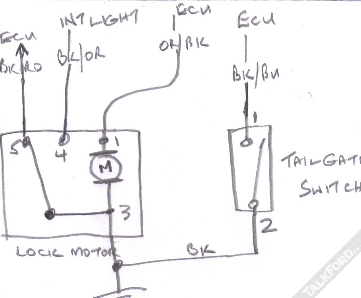 Ford Fiesta Central Locking Wiring Diagram